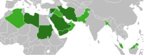 Groen: landen die Israëli's weigeren. Donkergroen: landen die zelfs mensen weigeren die in Israël zijn geweest.